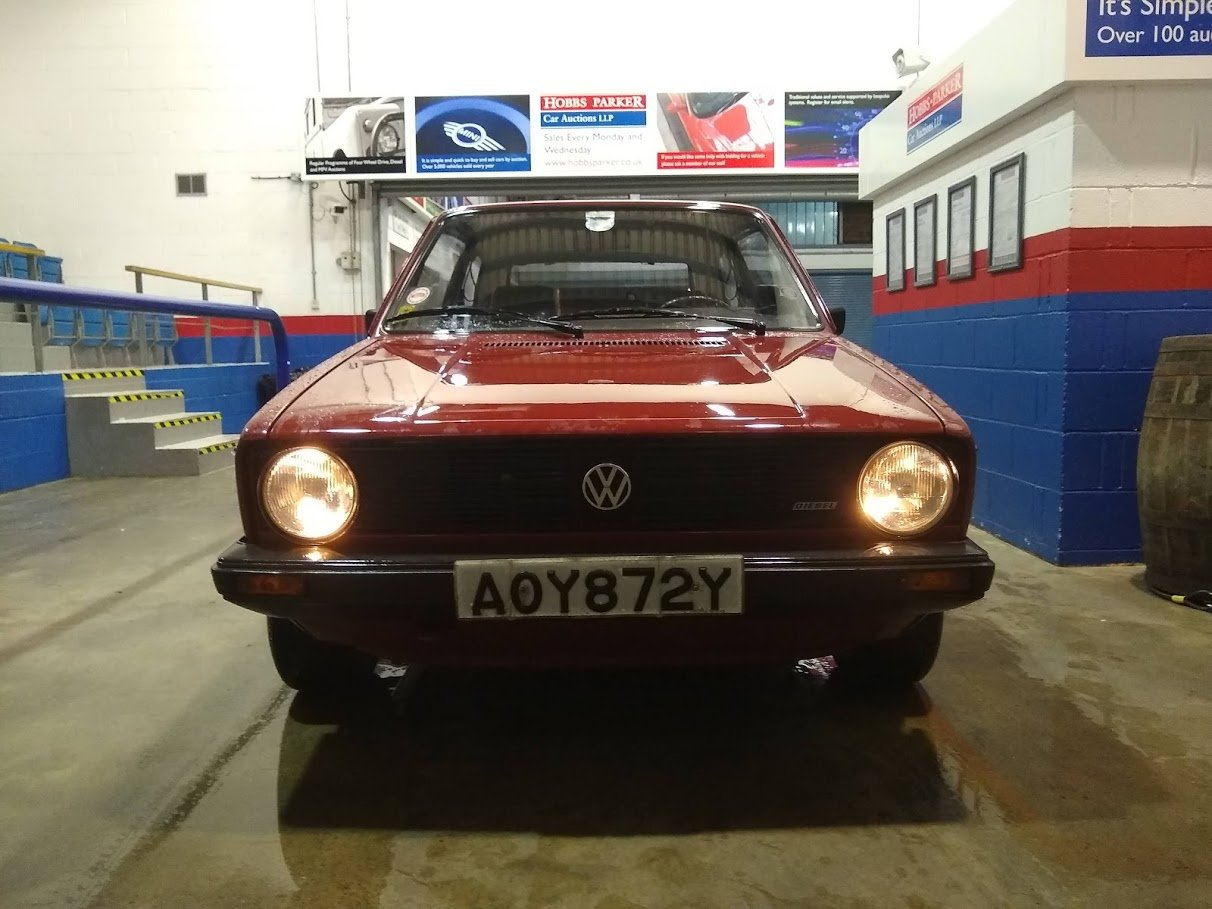1982 Volkswagen MK1 Golf C 1.6 Diesel Left hand drive for auction SOLD by Auction (picture 4 of 6)