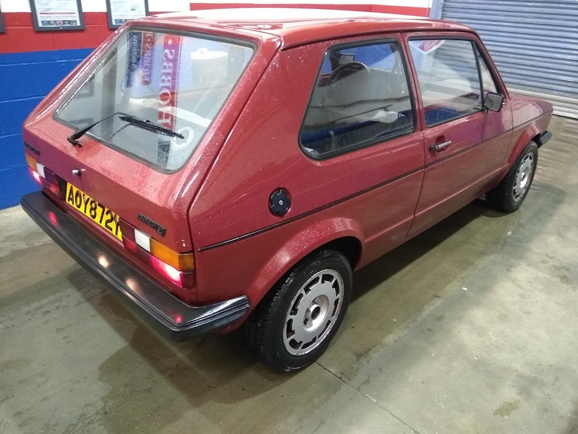 1982 Volkswagen MK1 Golf C 1.6 Diesel Left hand drive for auction SOLD by Auction (picture 6 of 6)