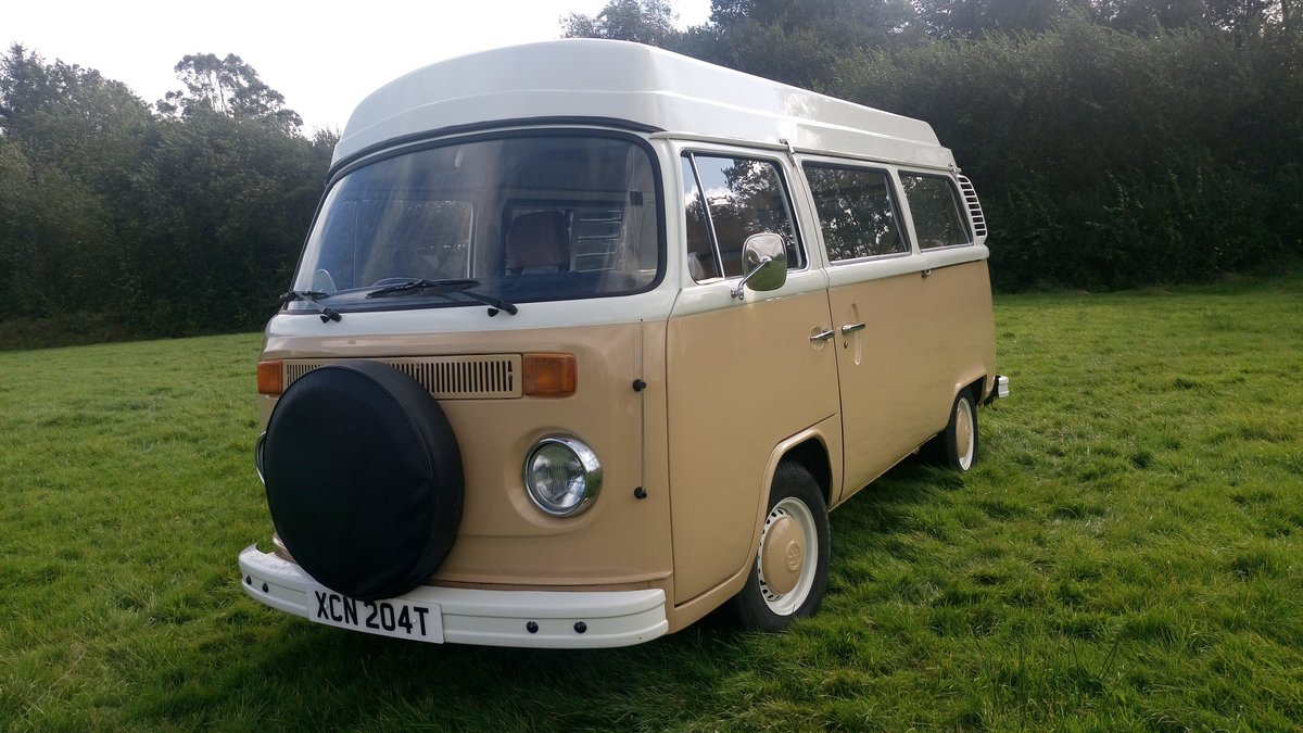 1979 SAFE & SELF-CONTAINED T2 VW Bay Camper For Sale (picture 1 of 6)