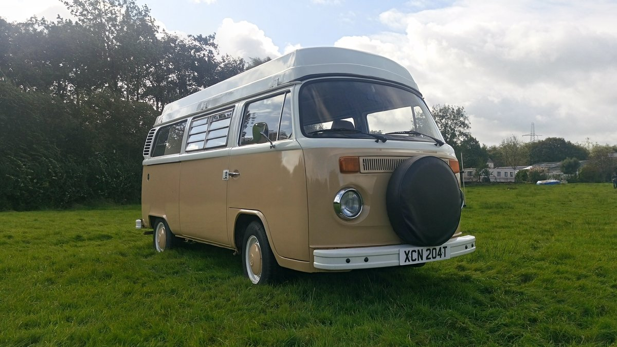 1979 SAFE & SELF-CONTAINED T2 VW Bay Camper For Sale (picture 2 of 6)