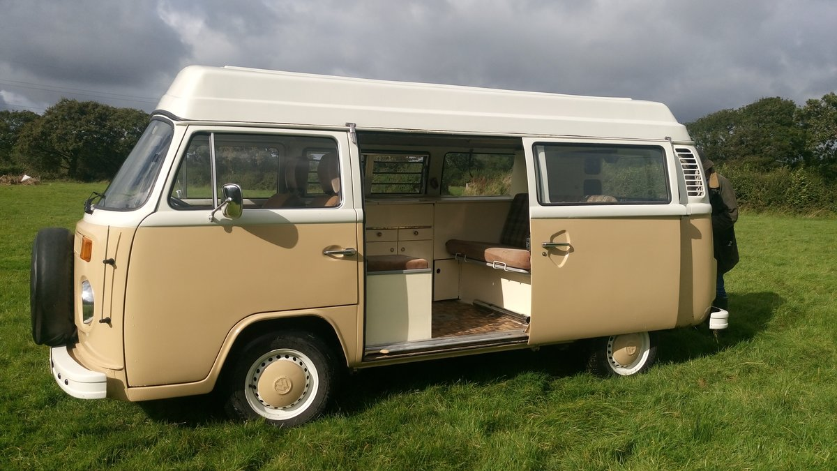 1979 SAFE & SELF-CONTAINED T2 VW Bay Camper For Sale (picture 3 of 6)