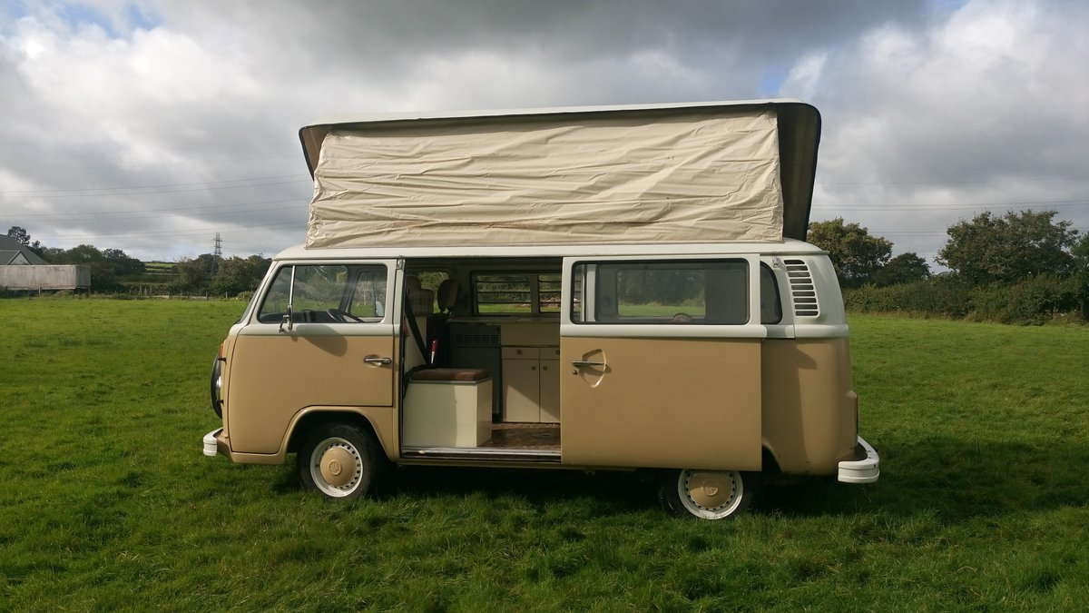 1979 SAFE & SELF-CONTAINED T2 VW Bay Camper For Sale (picture 4 of 6)