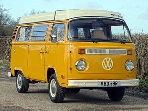 1976 Volkswagen Type 2 Westfalia Camper Van