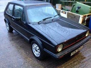 1982 VOLKSWAGEN MK 1 GOLF GTI