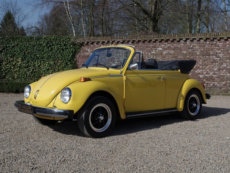 1976 Volkswagen Käfer / Beetle 1600 Convertible only 36.135 miles For Sale (picture 1 of 6)