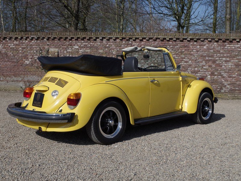 1976 Volkswagen Käfer / Beetle 1600 Convertible only 36.135 miles For Sale (picture 2 of 6)