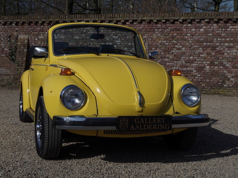 1976 Volkswagen Käfer / Beetle 1600 Convertible only 36.135 miles For Sale (picture 5 of 6)