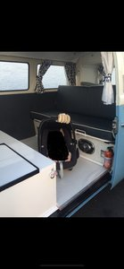 1973 T2 Devon bay window Campervan