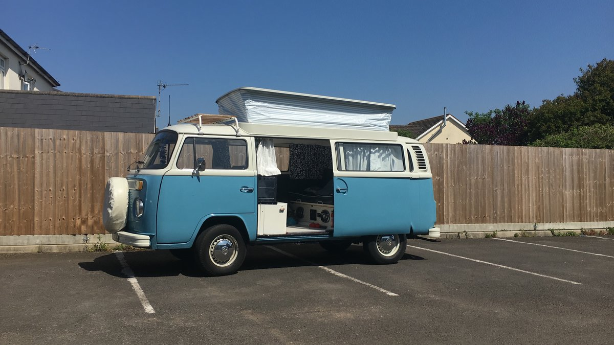 1973 T2 Devon bay window Campervan  For Sale (picture 3 of 4)