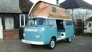 Vw volkswagen t2 type2 baywindow camper van