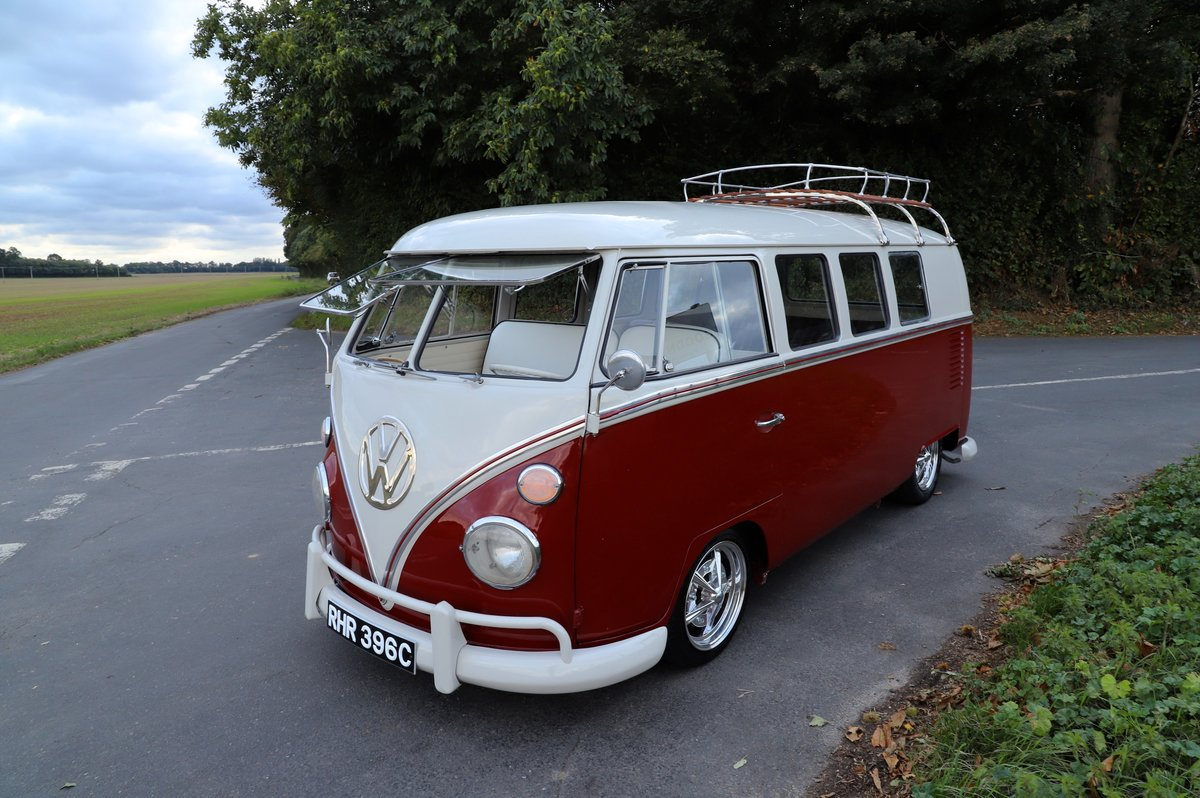 1965 VW Split Screen Camper Van. Exceptional Condition. For Sale (picture 1 of 6)
