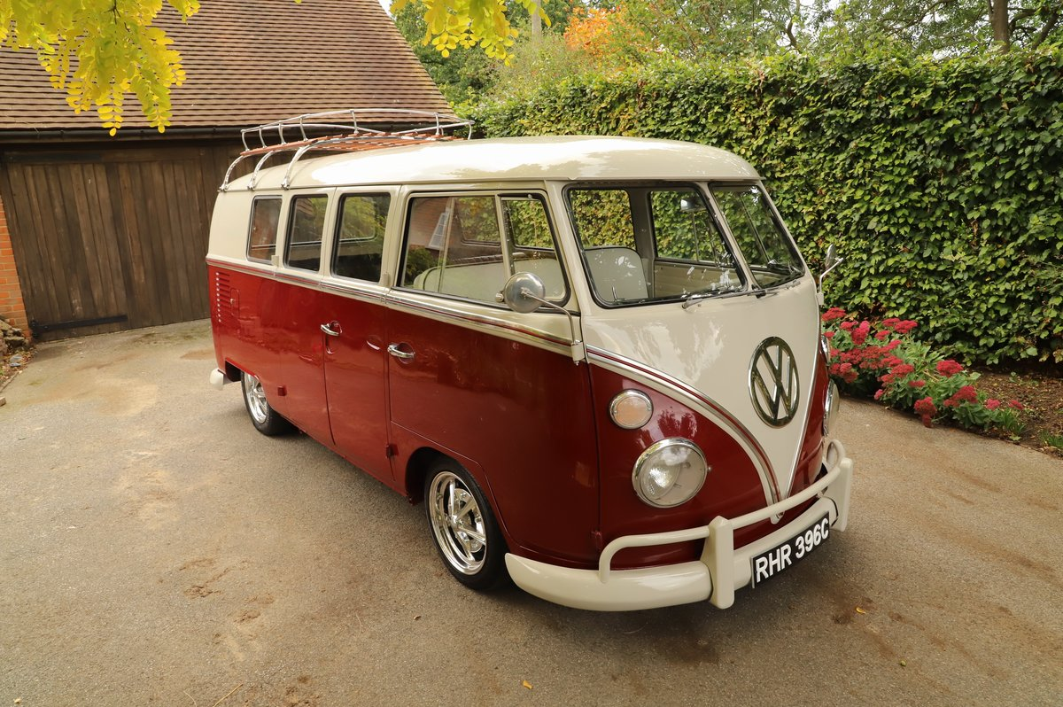 1965 VW Split Screen Camper Van. Exceptional Condition. For Sale (picture 4 of 6)