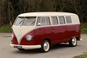 1966 VW Split Screen Camper Van. Factory German Built. RHD.