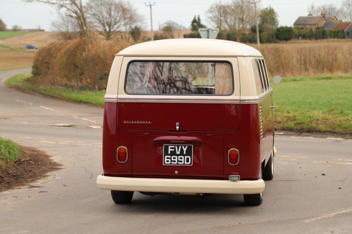 1966 VW Split Screen Camper Van. Factory German Built. RHD. For Sale (picture 2 of 6)