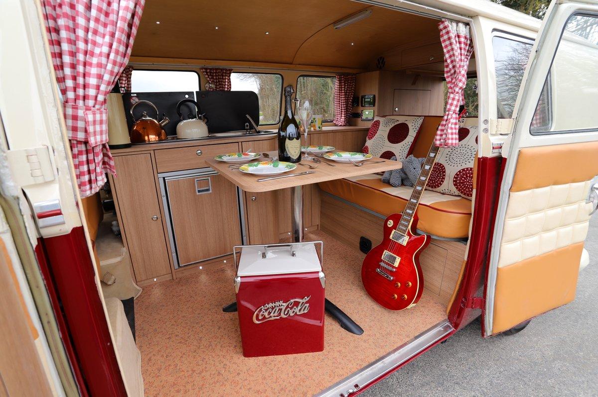 1966 VW Split Screen Camper Van. Factory German Built. RHD. For Sale (picture 5 of 6)