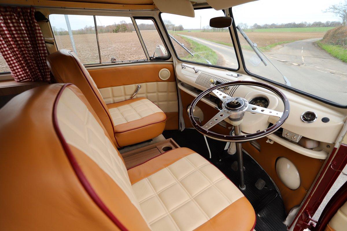 1966 VW Split Screen Camper Van. Factory German Built. RHD. For Sale (picture 6 of 6)