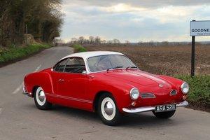 1963 Volkswagen Karmann Ghia (Type 14) – Factory RHD.