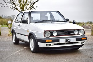 1991 VW GOLF MK2 GTI 8V WHITE 3DR