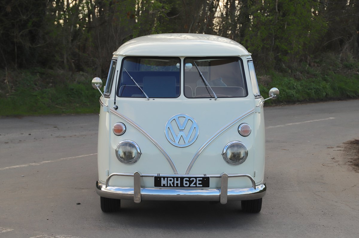 1967 VW Split Screen Camper Van. German Built. Full Resto For Sale (picture 2 of 6)