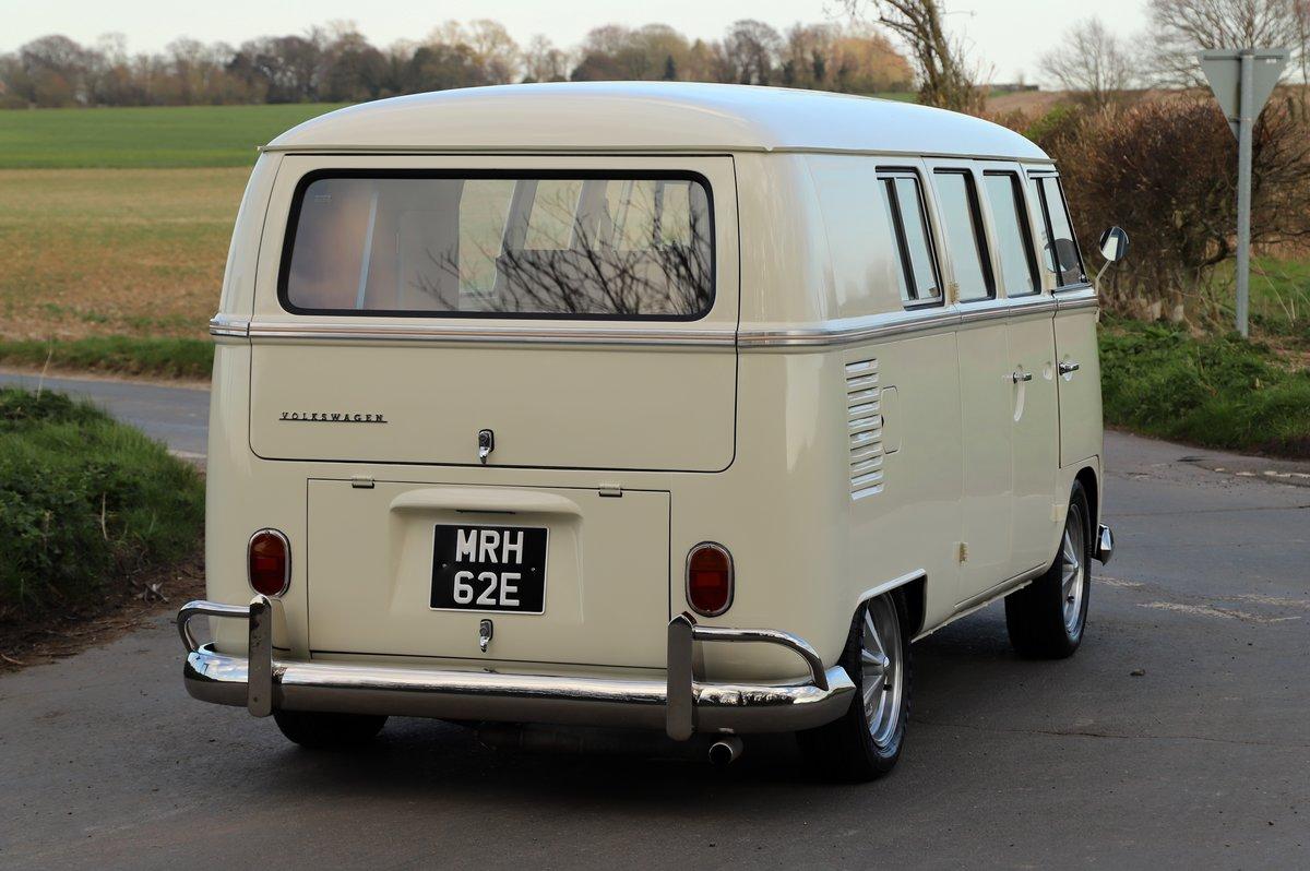 1967 VW Split Screen Camper Van. German Built. Full Resto For Sale (picture 3 of 6)