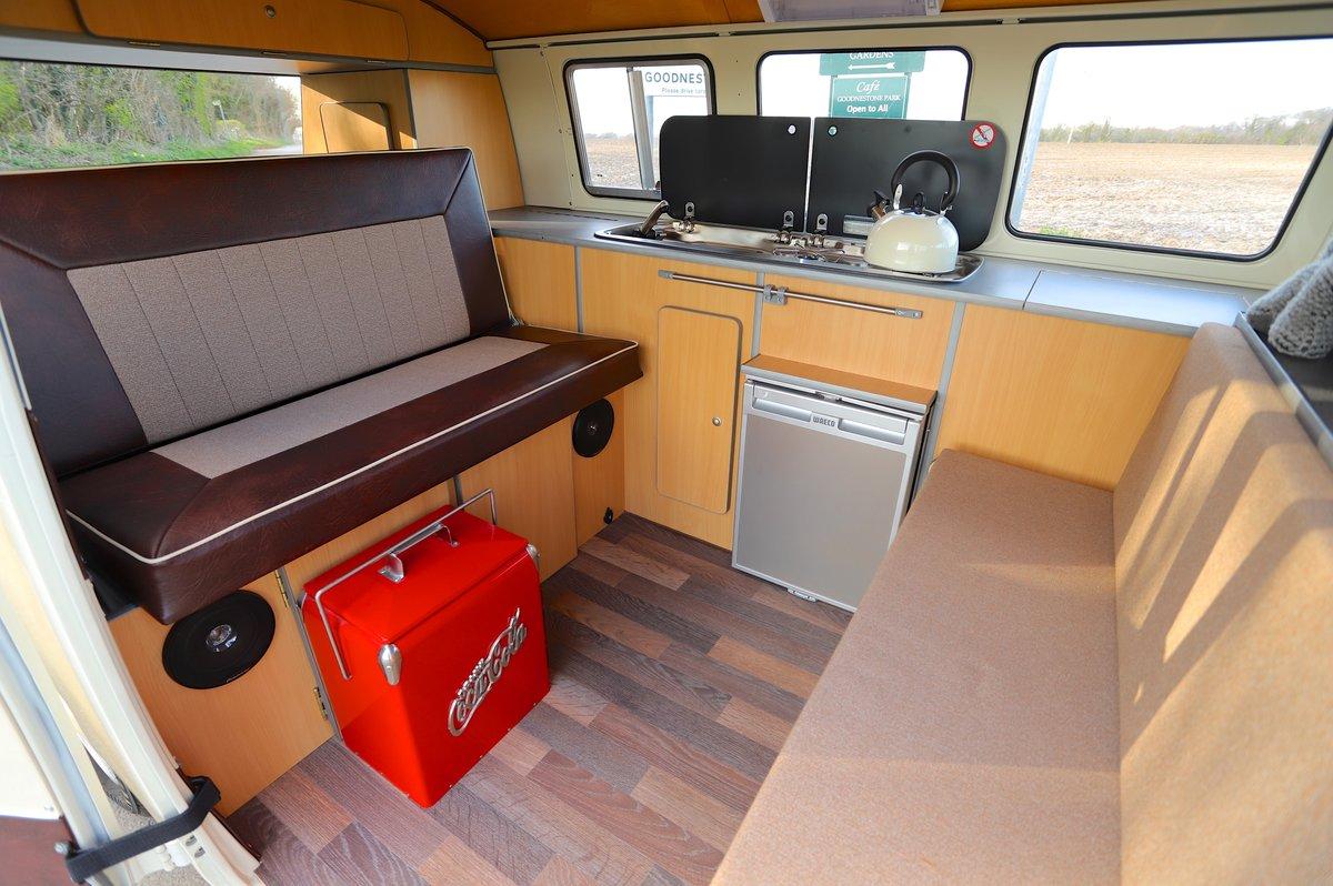 1967 VW Split Screen Camper Van. German Built. Full Resto For Sale (picture 5 of 6)