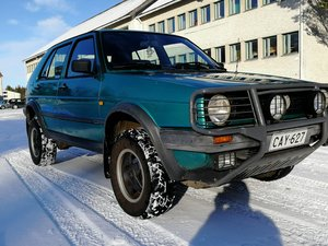 1991 VW Golf Country 4x4 1.8i