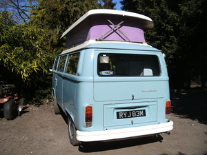 1974 Vw t2 bay window camper automatic rhd