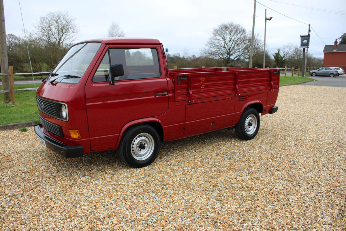 1984 VOLKSWAGEN PICKUP T25 For Sale (picture 1 of 6)