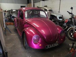1972 VW Beetle,ex Show Car - not running - Ideal restoration For Sale