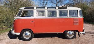 1961 Volkswagen T1 Samba, T1 23 Fenster, Volkswagen deluxe For Sale