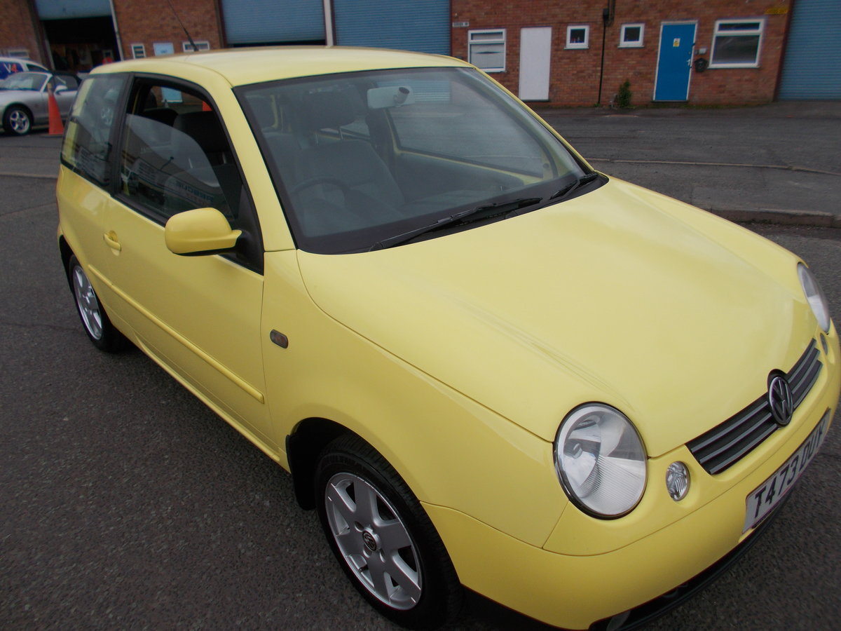 1999 VOLKSWAGEN LUPO 1.4 S YELLOW LOW MILES  For Sale (picture 1 of 6)