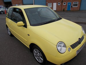 VOLKSWAGEN LUPO 1.4 S YELLOW LOW MILES