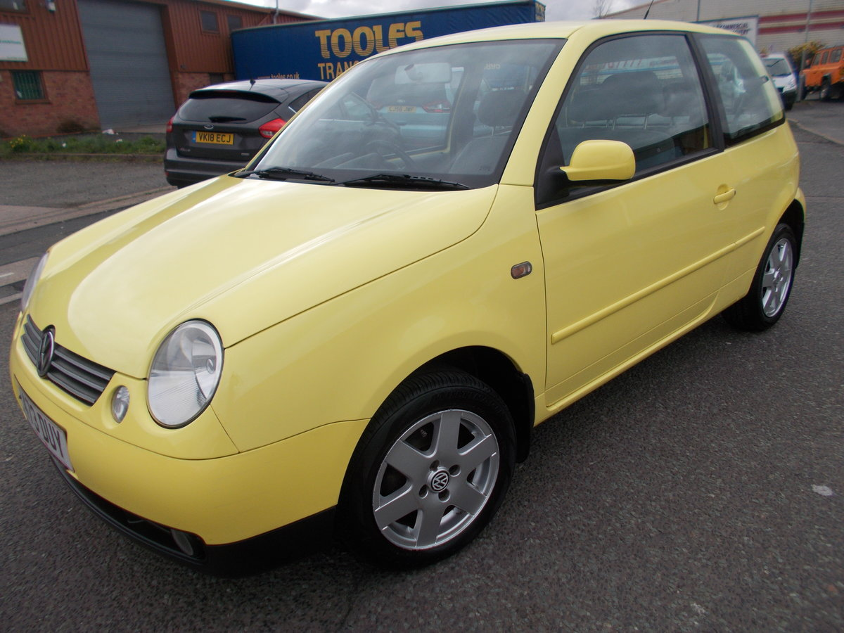 1999 VOLKSWAGEN LUPO 1.4 S YELLOW LOW MILES  For Sale (picture 2 of 6)