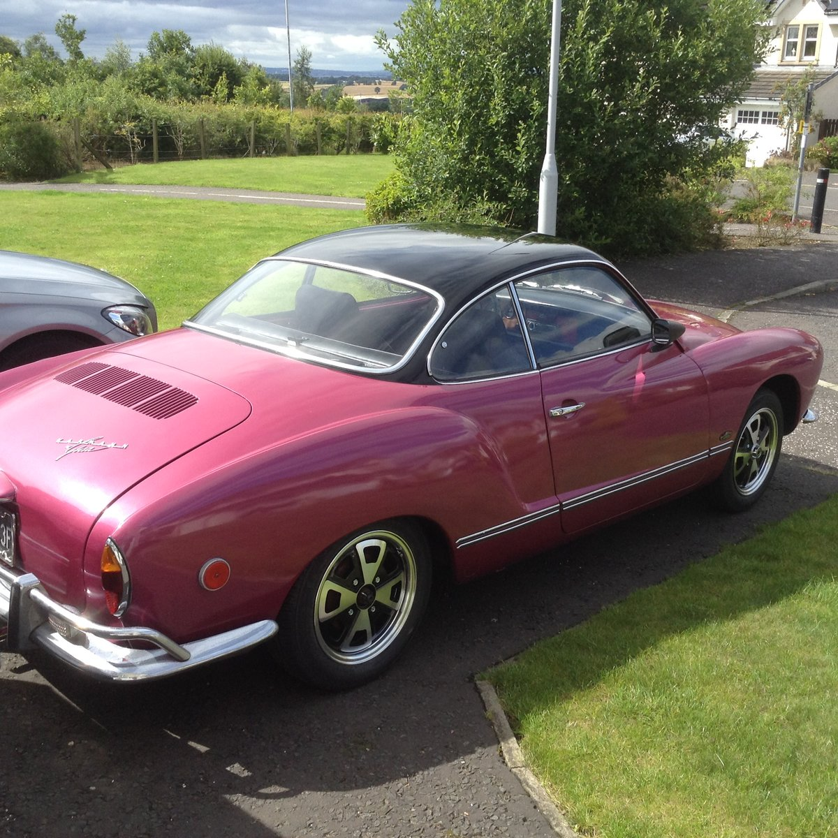 1968 Karmann Ghia, Rot free, semi auto 1500 US import For Sale (picture 1 of 6)