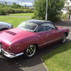 Karmann Ghia, Rot free, semi auto 1500 US import
