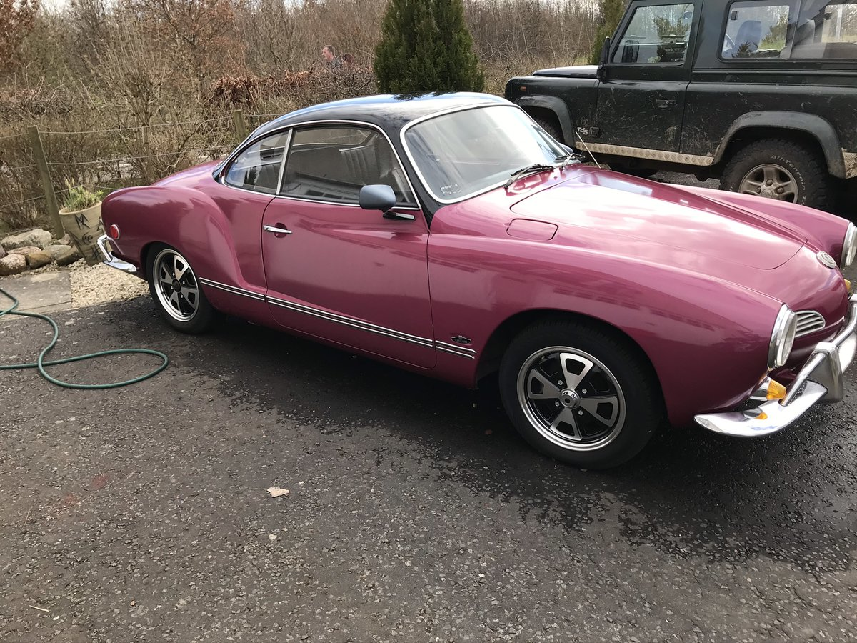 1968 Karmann Ghia, Rot free, semi auto 1500 US import For Sale (picture 2 of 6)