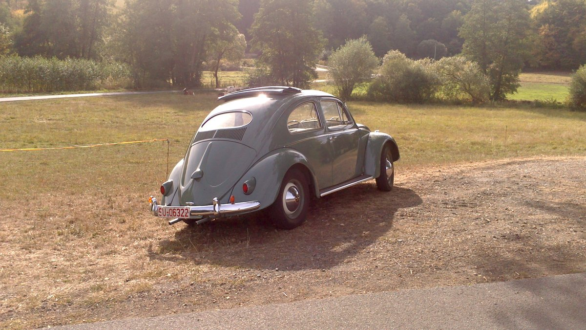 1957 VW Ovali Faltdach-Käfer, 2. Hand, 1. Brief For Sale (picture 1 of 6)