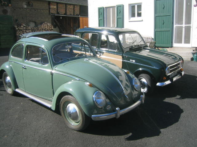 1957 VW Ovali Faltdach-Käfer, 2. Hand, 1. Brief For Sale (picture 2 of 6)