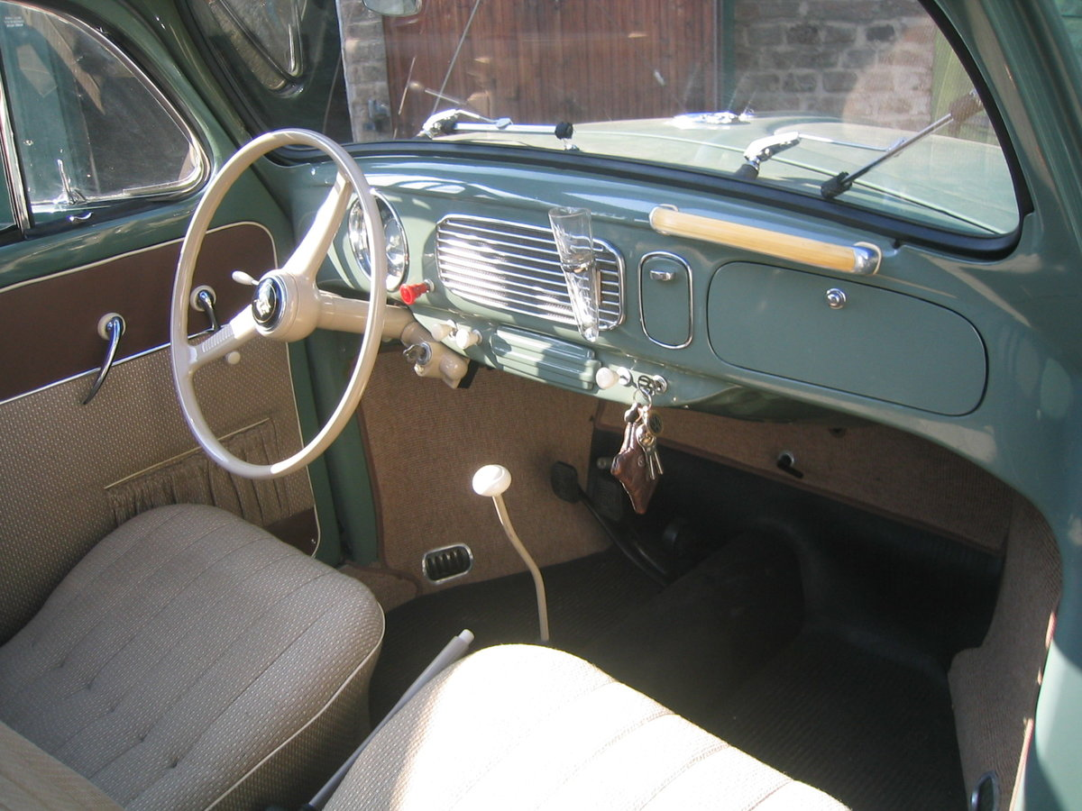 1957 VW Ovali Faltdach-Käfer, 2. Hand, 1. Brief For Sale (picture 3 of 6)