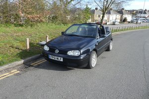 Volkswagen Golf Cabriolet 2001 - To be auctioned 26-06-20
