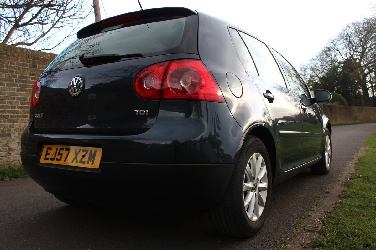 2007 Volkswagen Golf MK5 1.9TDI Match Edition * SUPERB EXAMPLE * SOLD (picture 3 of 6)