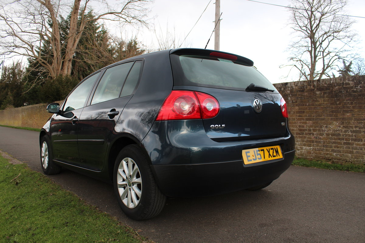 2007 Volkswagen Golf MK5 1.9TDI Match Edition * SUPERB EXAMPLE * SOLD (picture 4 of 6)