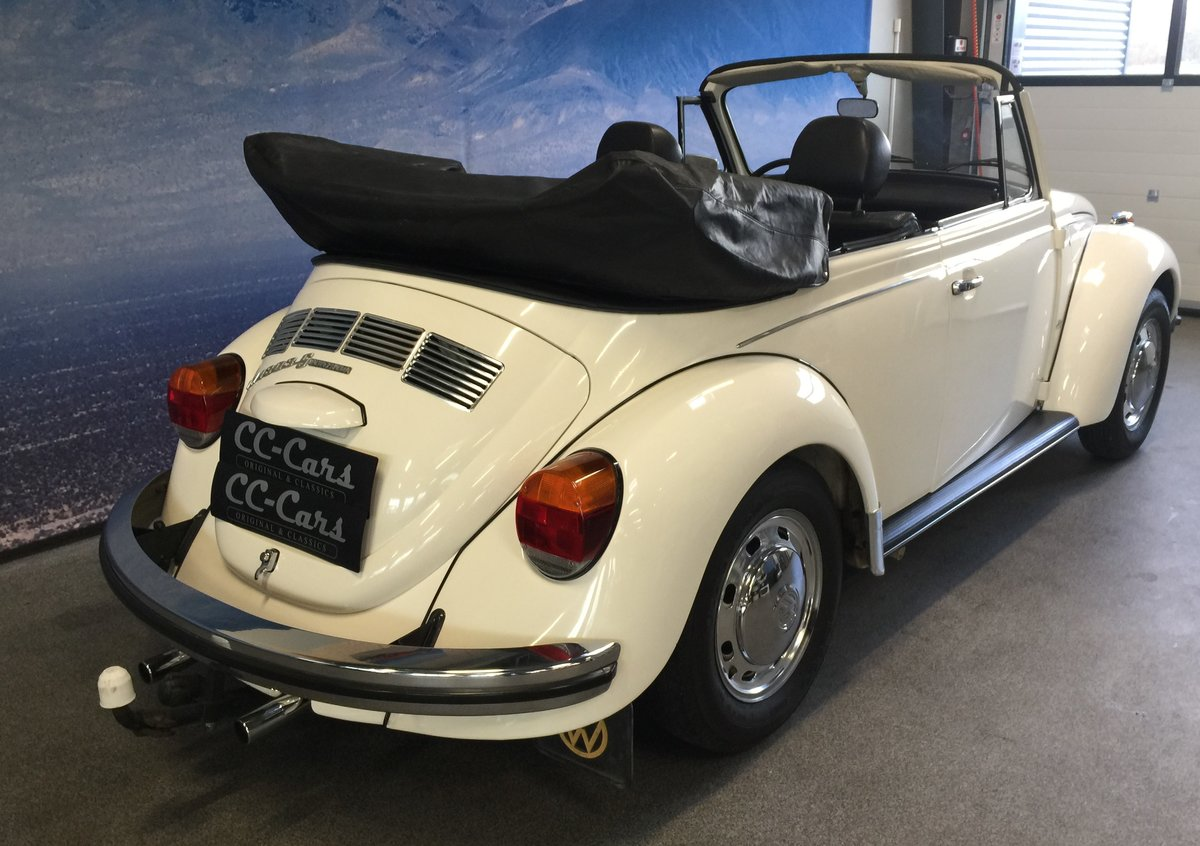 1974 Volksvagen Cabriolet 1303 S  For Sale (picture 4 of 6)