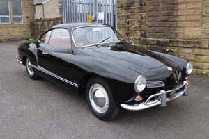 1963 Karmann ghia 1owner original black car For Sale