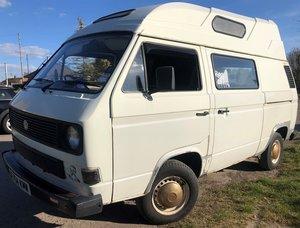 1986 VW Camper T25 T3  - Motor Caravan - MOT - Project