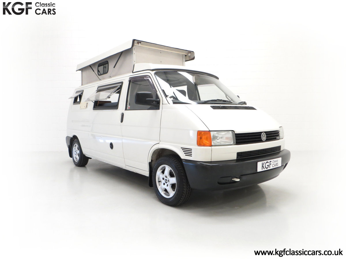 2001 A Young Conversion LWB Volkswagen T4 2.5TDi Campervan For Sale (picture 1 of 24)