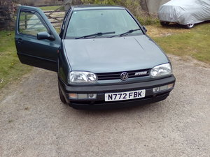 1996 VW Golf MK3 VR6. As factory issued.