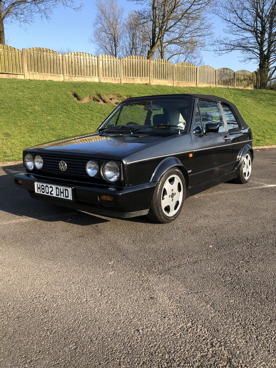 1990 Mk1 Golf GTI Cabriolet SOLD (picture 1 of 6)