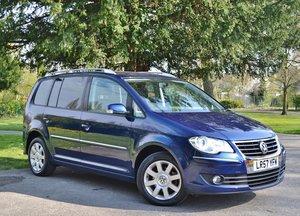 2007 VW Touran 2.0 TDI Sport Automatic DSG 5dr (7 Seats) FVWSH SOLD