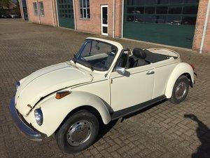 1976 VW Beetle 1600 convertible